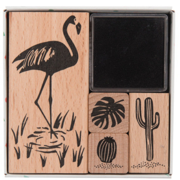 Stempel-Set FLAMINGO