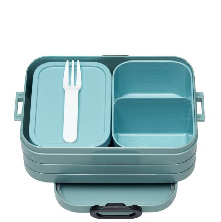 Bento Lunchbox TAKE A BREAK, nordic green, Mepal