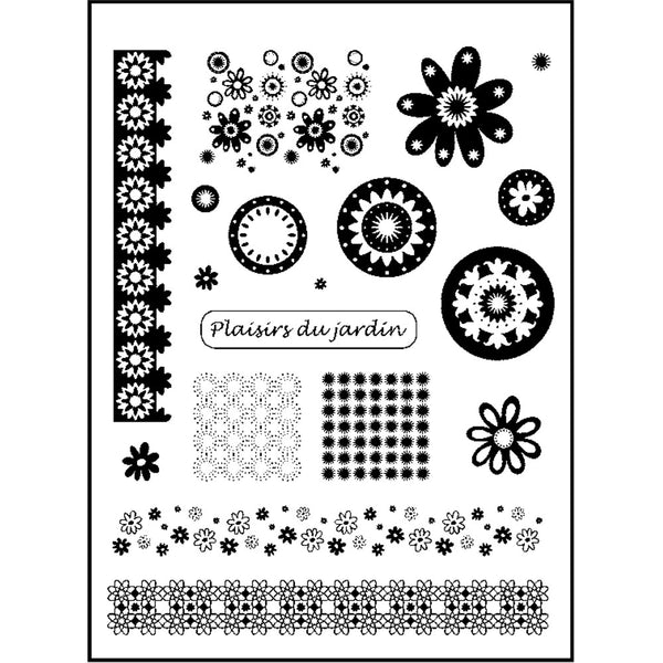 Clearstamps BLUMEN