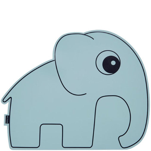 Tisch-Set ELEFANT blau von Done By Deer