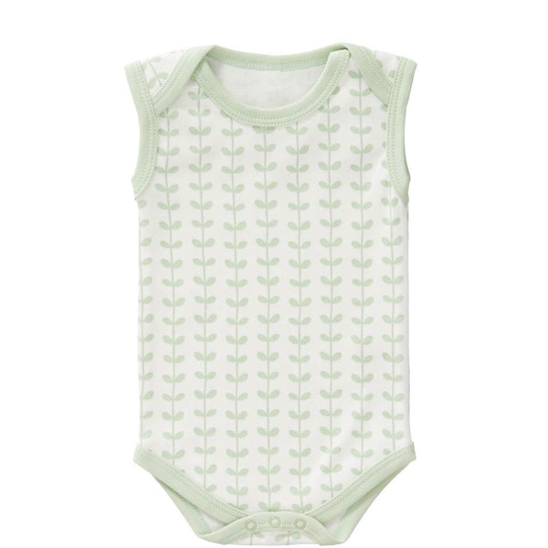 Body LEAVES mint, Fresk Babywear
