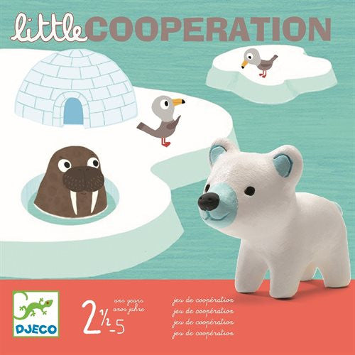 Brettspiel LITTLE COOPERATION, Djeco