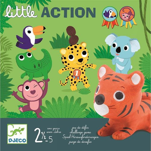 Brettspiel LITTLE ACTION von Djeco