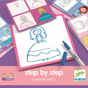 FIGUREN ZEICHNEN Step by Step, Djeco