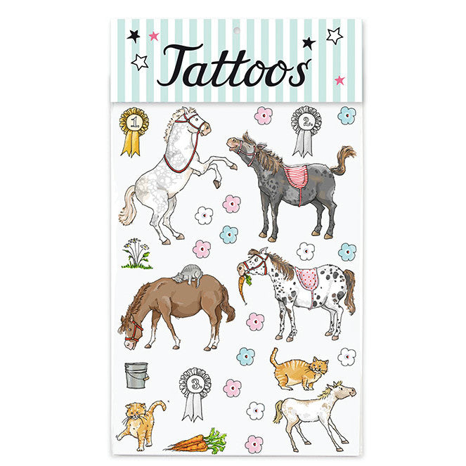 Tattoo-Set PONYS von Krima & Isa