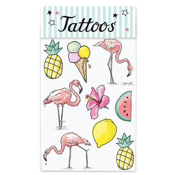 Tattoo-Set TROPICAL von Krima & Isa