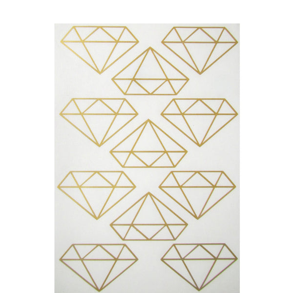 Mini-Wandsticker DIAMANT