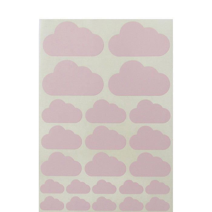 Mini-Wandsticker WOLKEN-MIX