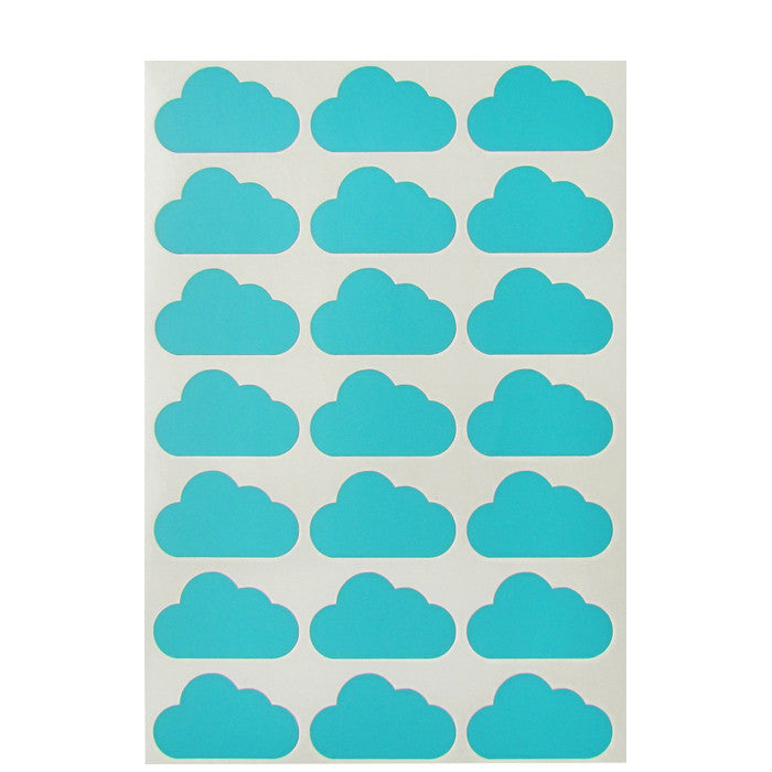 Mini-Wandsticker WOLKEN