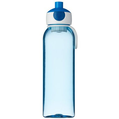 Trinkflasche CAMPUS POP UP blau von Rosti Mepal