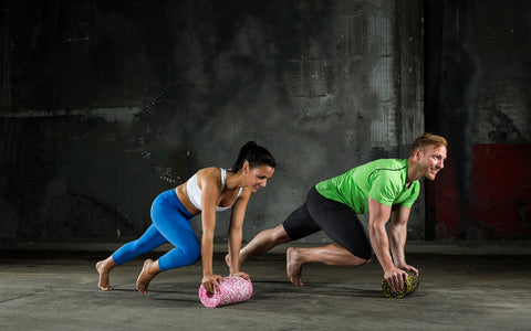 functional training with foam roller