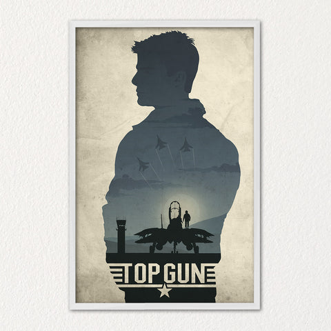 Top Gun Poster F14 Tomcat Poster US Navy Need For Speed Maverick Goose Iceman