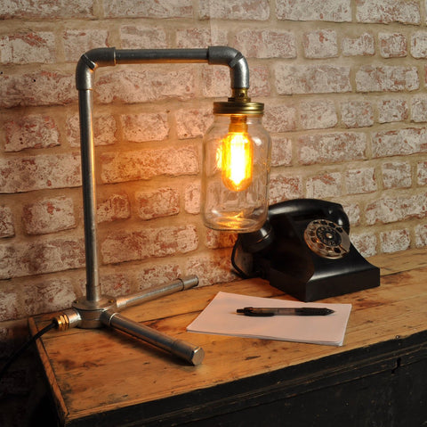 Industrial lamps for Home Office at Mayflower Lighting UK