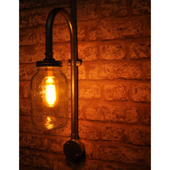 Ely vintage wall light