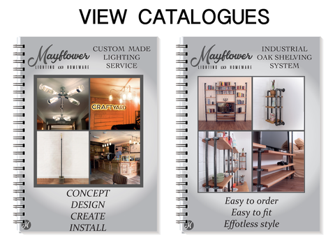 mayflower catalogues for industrial design and custom made products