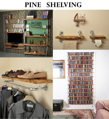 industrial shelving including CD storage library
