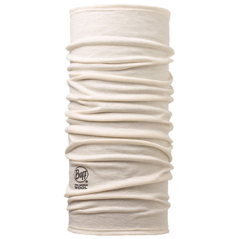 Buff Merino Wool Solid Snow