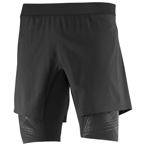 Salomon Intensity Twinskin Short Men (Black)