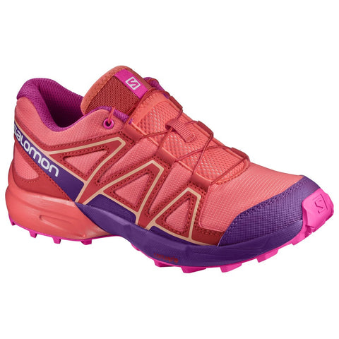 Salomon Speedcross Junior (Coral/Rose)