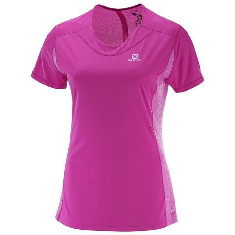 Salomon Agile SS Tee Women (Rose Violet)