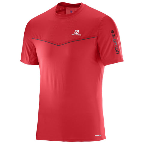 Salomon Fast Wing SS Tee Men (Matador Red)