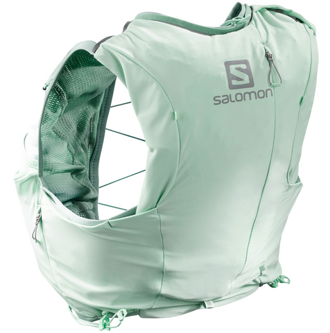 Salomon Adv Skin Women 8L Set (Yucca Green)