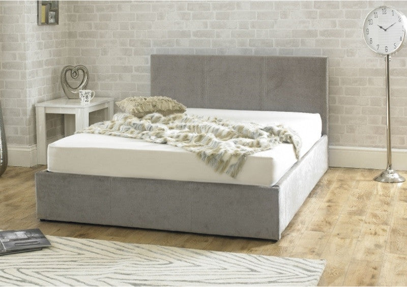 Emporia Beds Stirling Stone Fabric Ottoman Bed