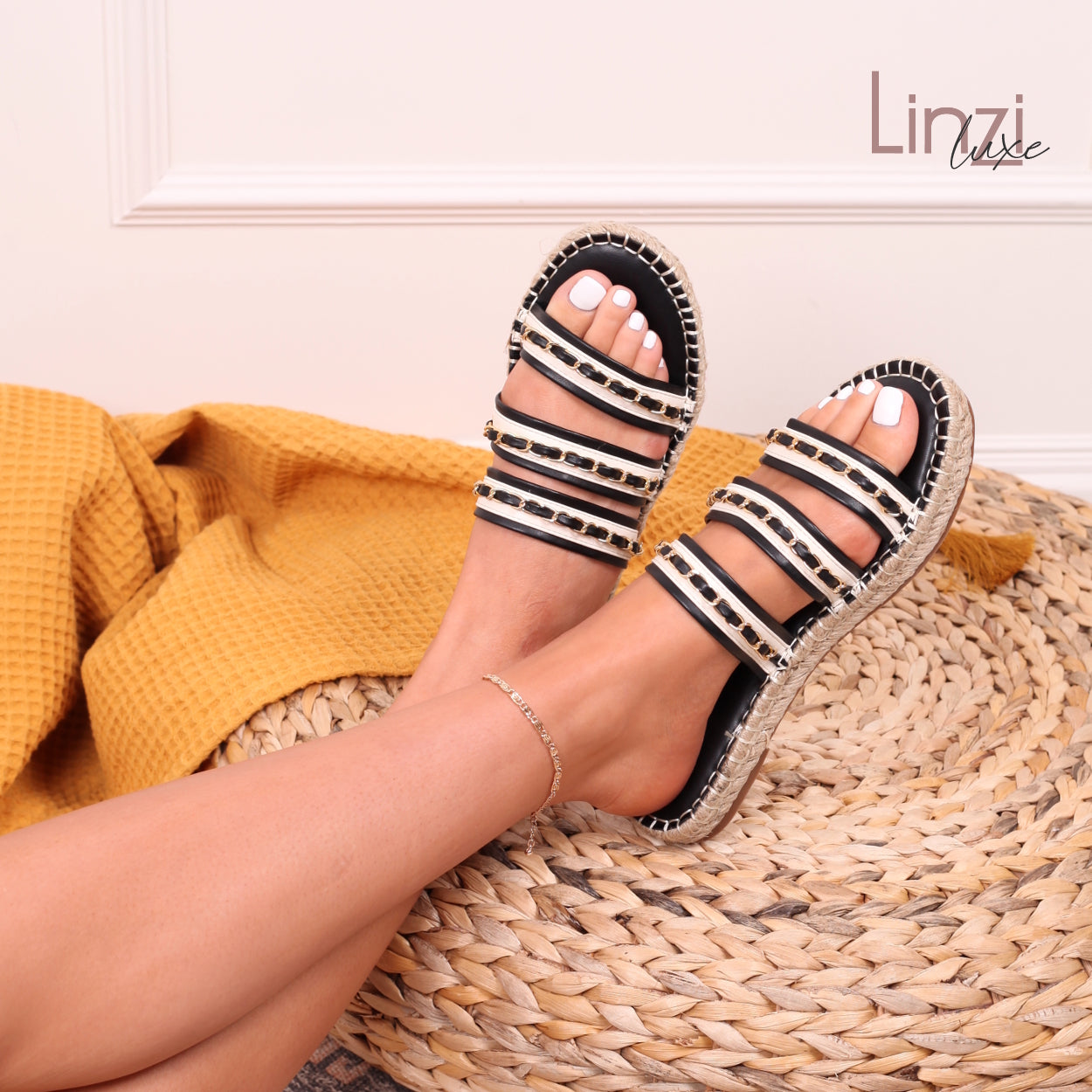 PAISLEY - Sandals - linzi-shoes.myshopify.com