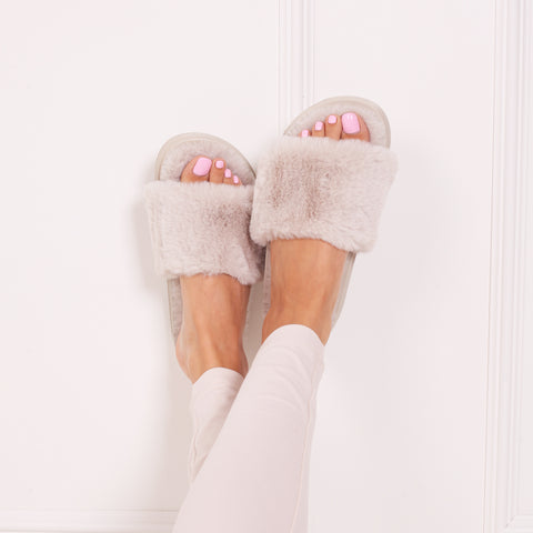 FLUFFY - Flats - linzi-shoes.myshopify.com