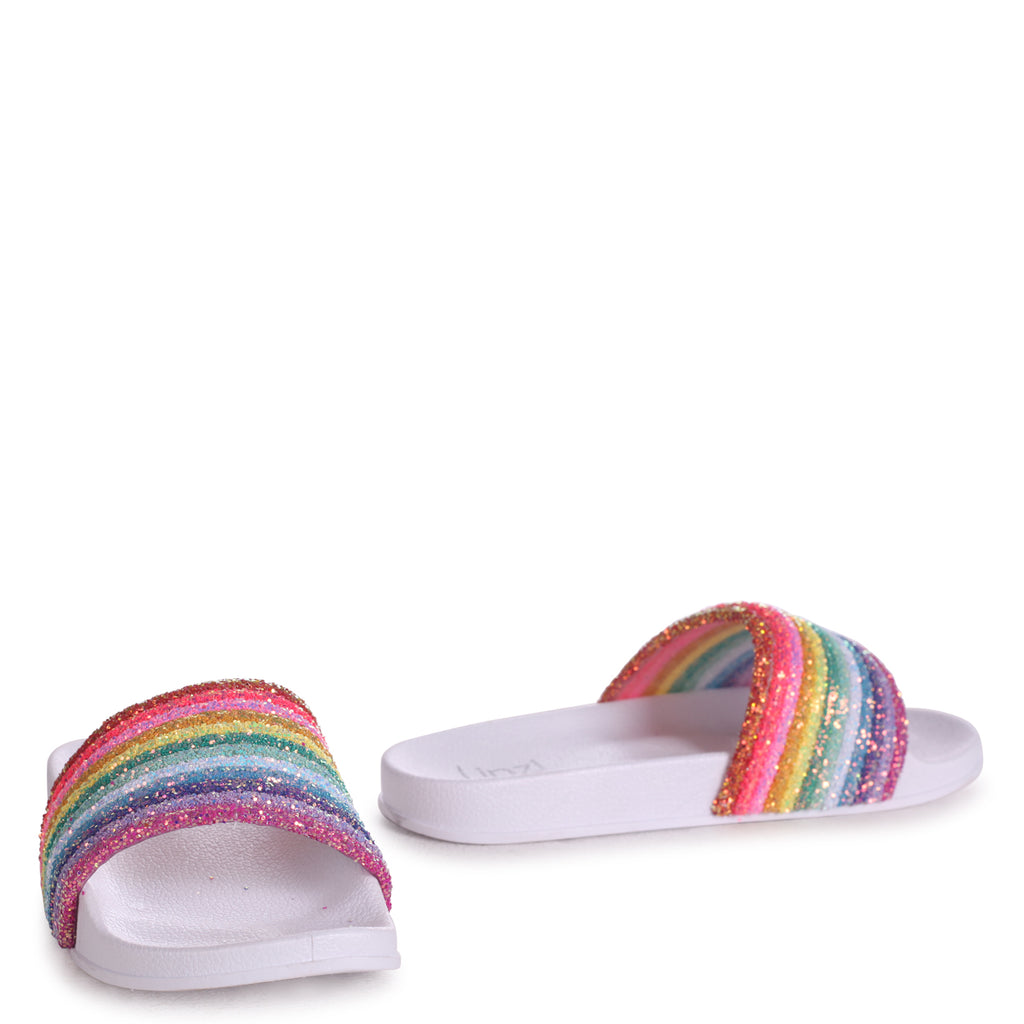 RAINBOW - Sandals - linzi-shoes.myshopify.com