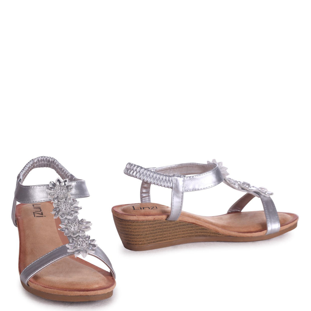 FLOWER - Sandals - linzi-shoes.myshopify.com