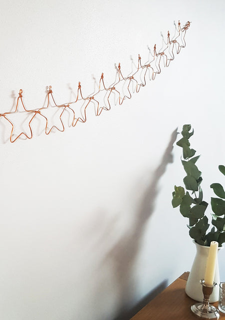 wirework star bunting