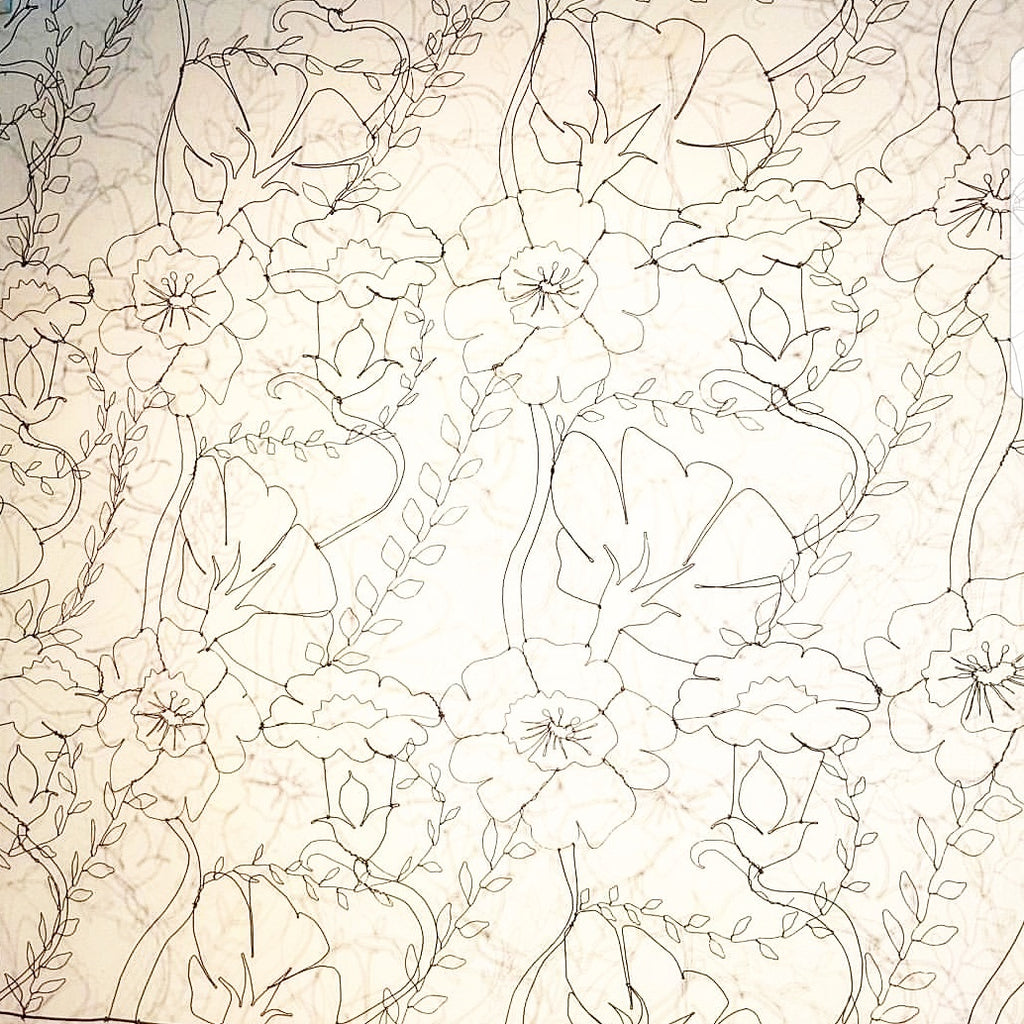 wirework wallpaper 'intwined'
