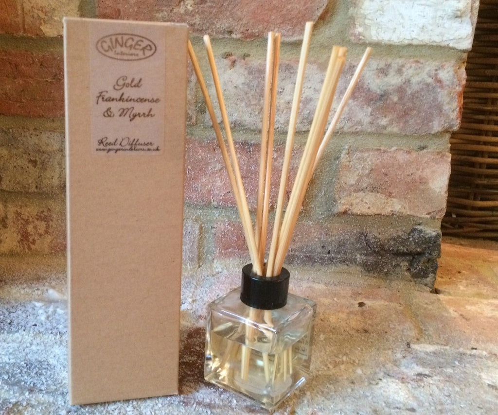 Reed Diffuser 100ml - Christmas - Gold Frankincense and Myrrh