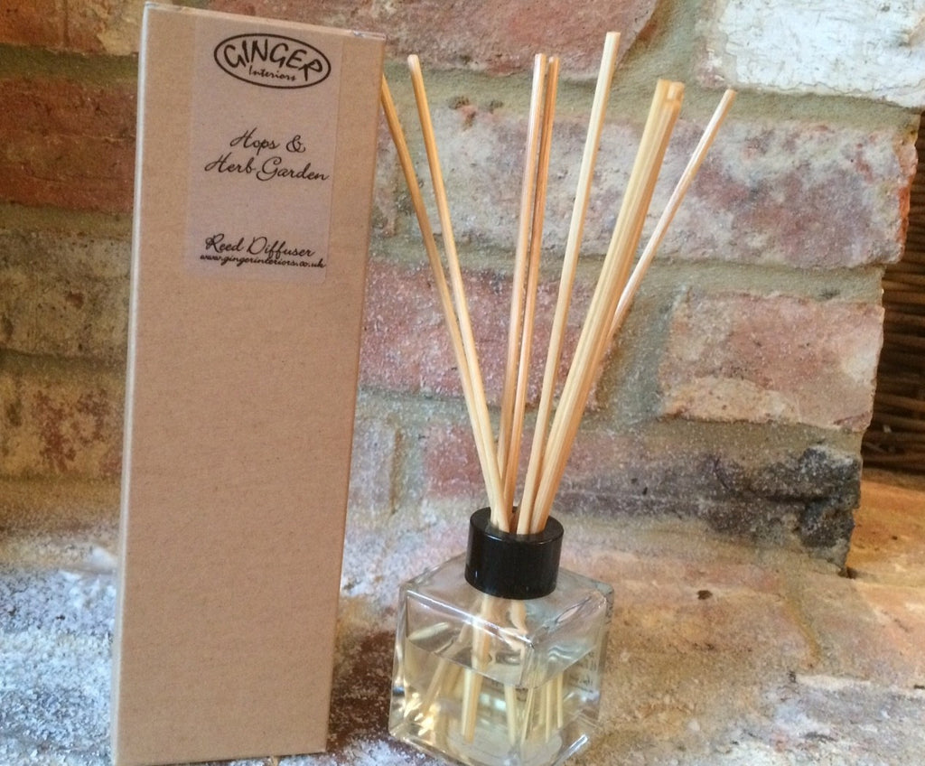 Reed Diffuser 100ml - Kitchen - Hops & Herb Garden