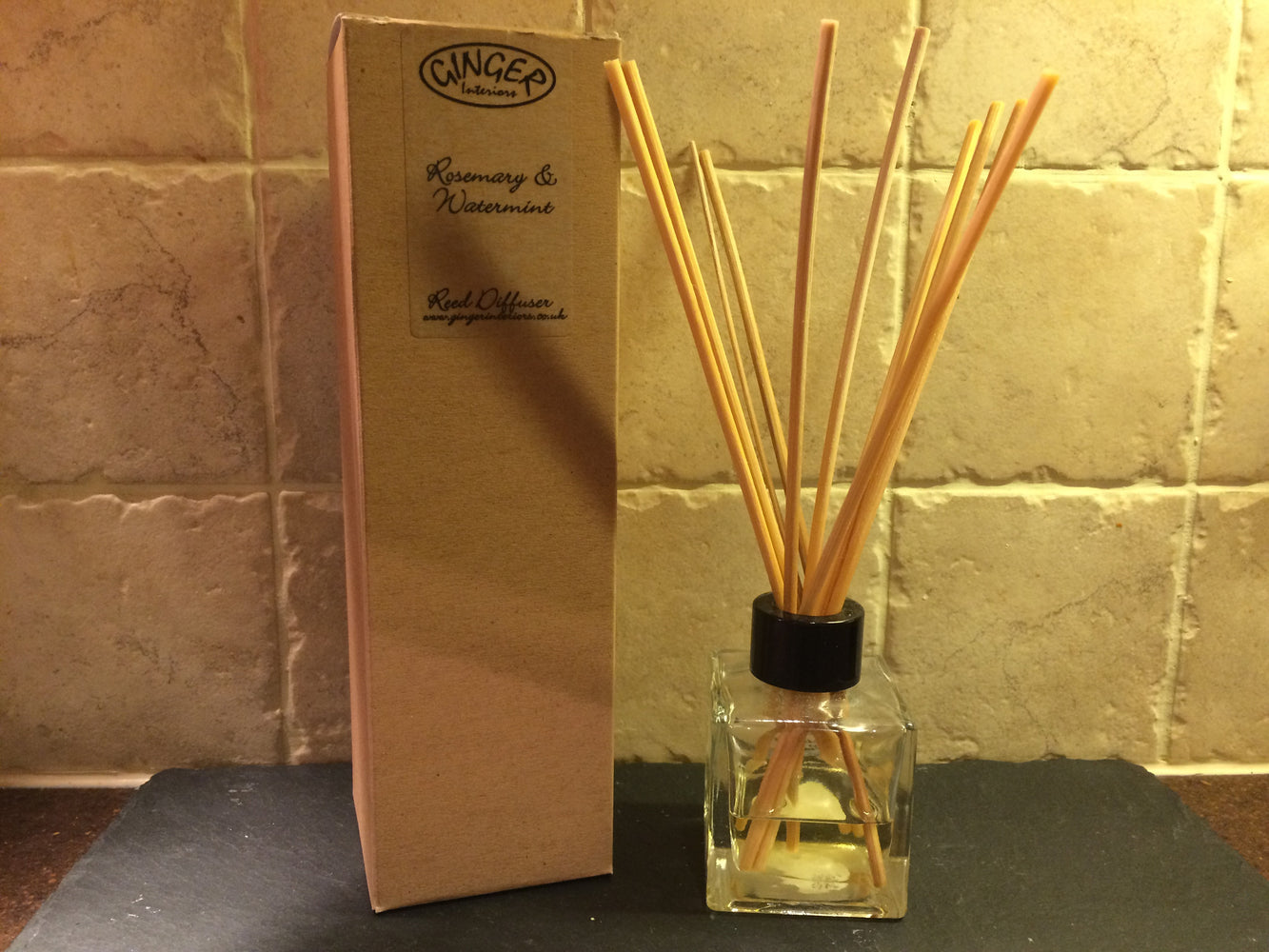 Reed Diffuser 100ml - Fresh - Rosemary & Watermint