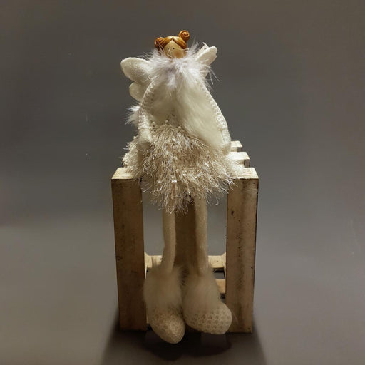 White Feather Angel, Shelf sitting festive figure