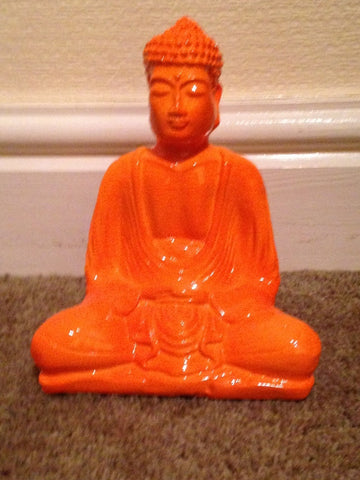 Orange Buddha (15cm)