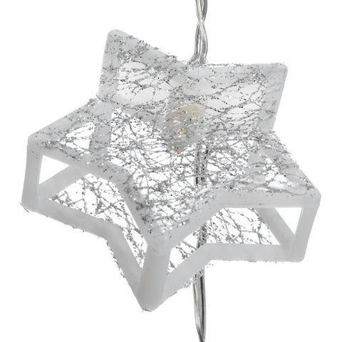 Star Christmas String Lights - Battery operated