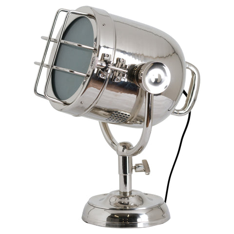 Industrial Spotlight Table Lamp