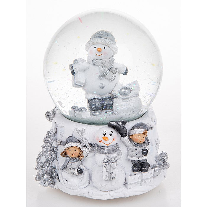 Christmas Musical Snow Globe Frosty Snowman