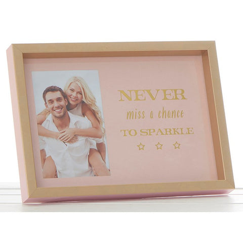 Photo Frame - Never miss a chance to sparkle
