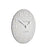 Dove Grey Arabic - 12inch Wall Clock Thomas Kent