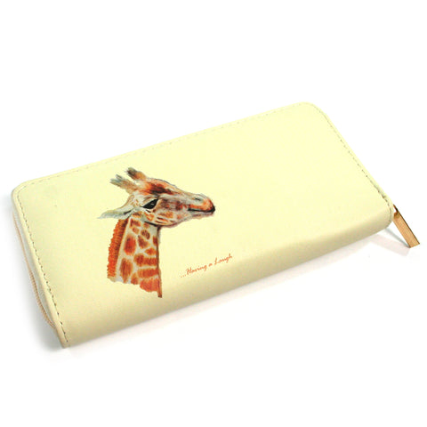 Ladies Giraffe Purse - Gorgeous George