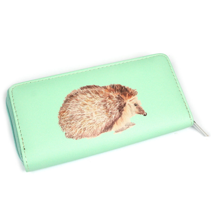 Ladies Hedgehog Purse Green