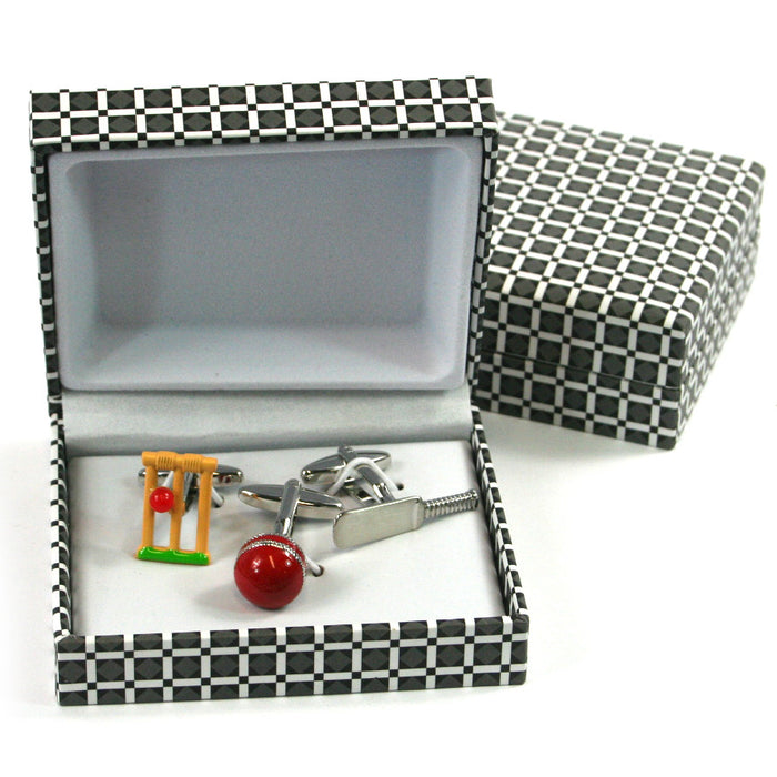 Cricket Cuff Links - Set of 3