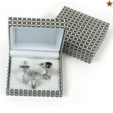 Wine Cuff Links - Set of 3 - Stylish Classic Man Gift