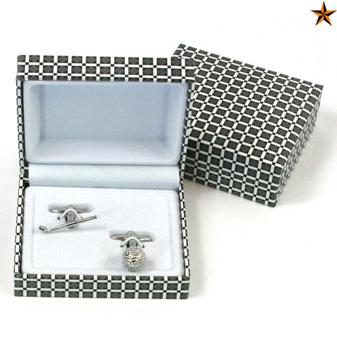 Golf Cuff Links - Stylish Classic Man Gift