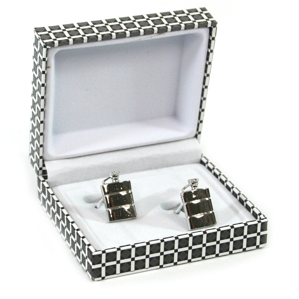 Hip Flask Cuff Links