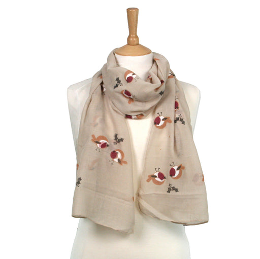 Robin Scarf Taupe
